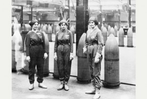 Munitions workers at Chilwell