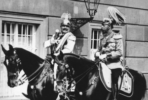 King George V and Kaiser Wilhelm II