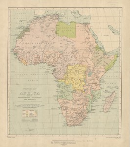 International boundaries 1920 (image courtesy the Royal Geographical Society)